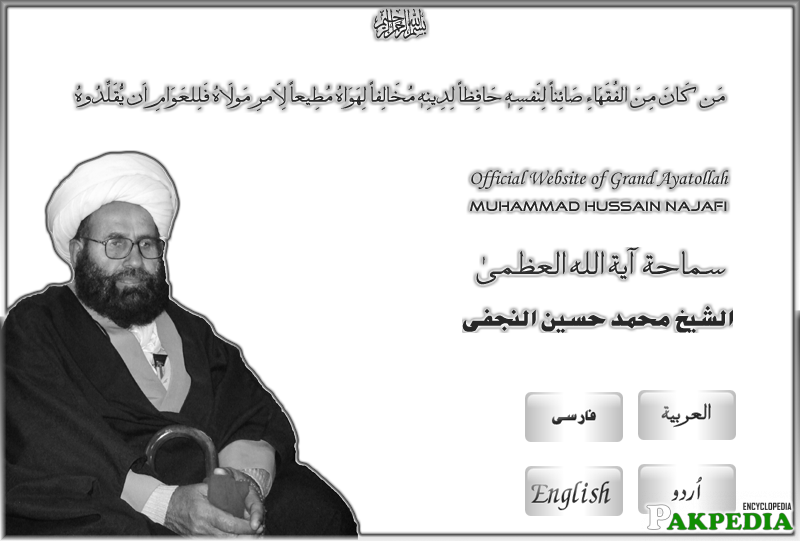 cover of Allama's official site