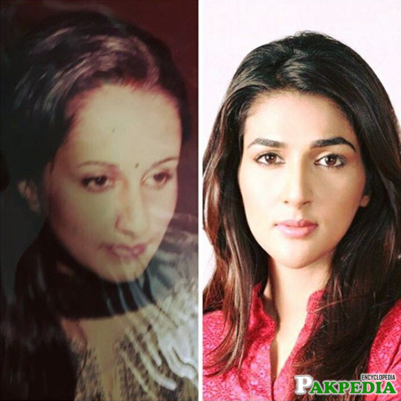 Rubab and her Mother