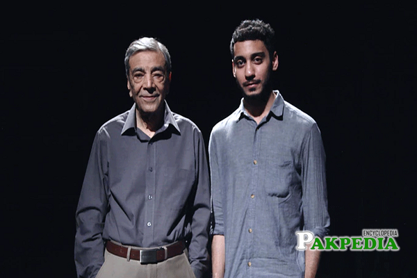 Zia Mohiuddin Family