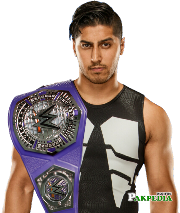 Mustafa Ali WWE Cruiserweight Champ ( EDIT )