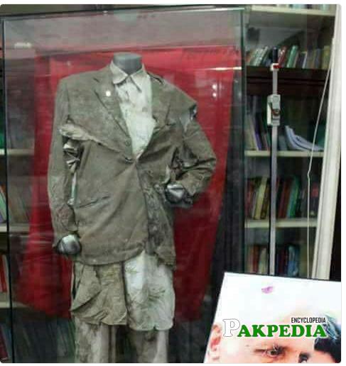 Bashir Ahmad Bilour last dress saved in his House