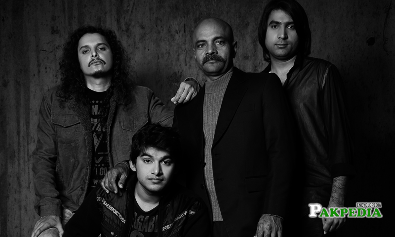 Mekaal Hasan's photo with his Band