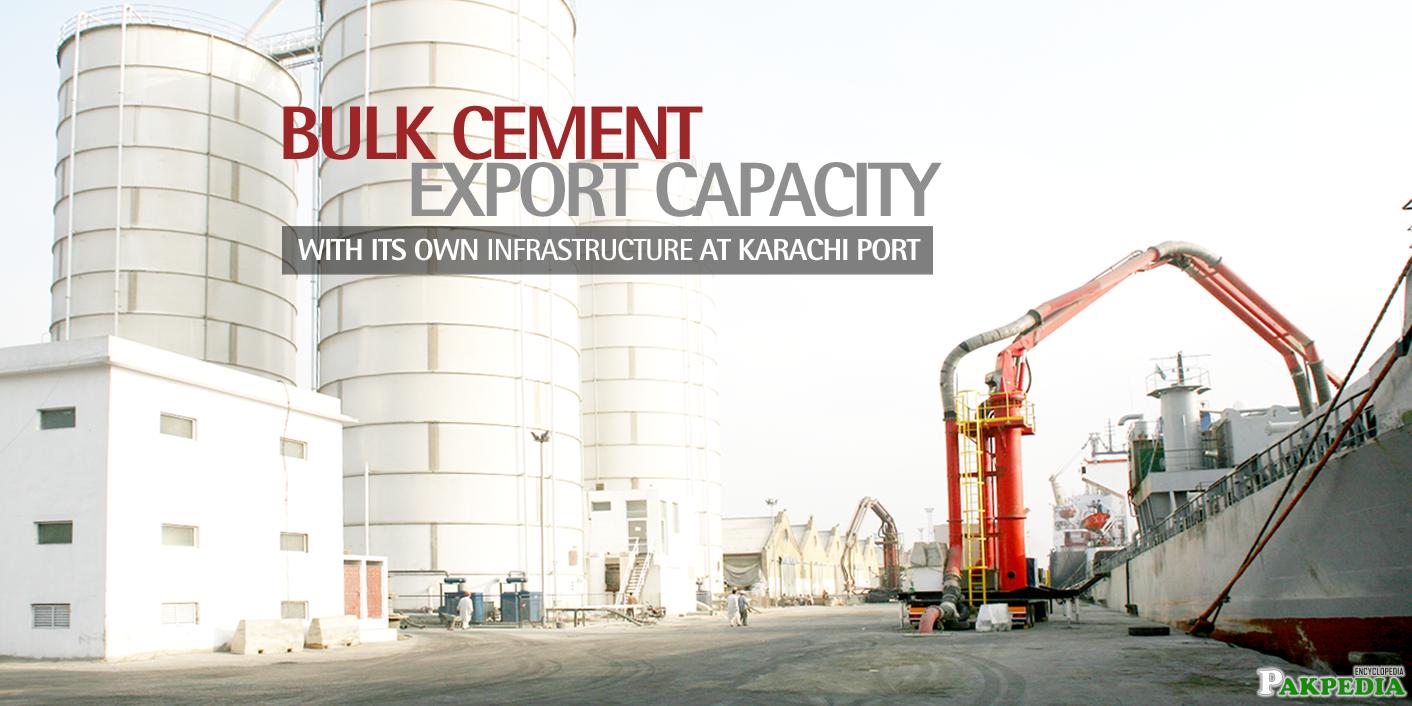 Lucky cement Factory