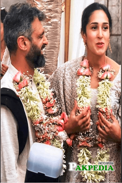 Mira Sethi on her big day with her husband