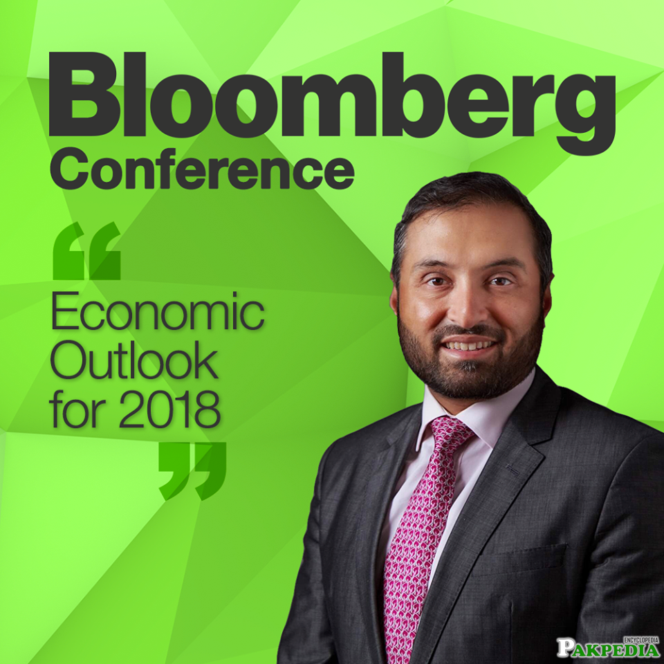 Ghias Khan Engro president will be speaking on the panel discussing the country's economy at the Bloomberg Pakistan Economic Forum Conference