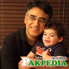 Asad Umar in a plasent mood