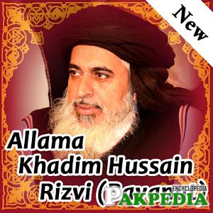 Allama khadim Hussain Rizvi Bayanaat