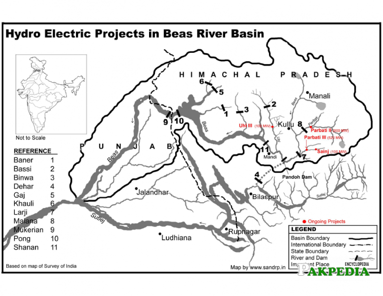 Hydroelectric projects in Darya-e Beas