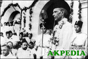 Jinnah Addressed The Annual Meeting of the Muslim League