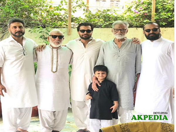 Adnan Siddiqui Family