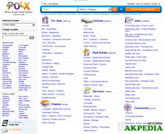 OlX Pakistan Shopping