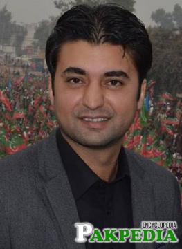 Murad Saeed in pti jalsa