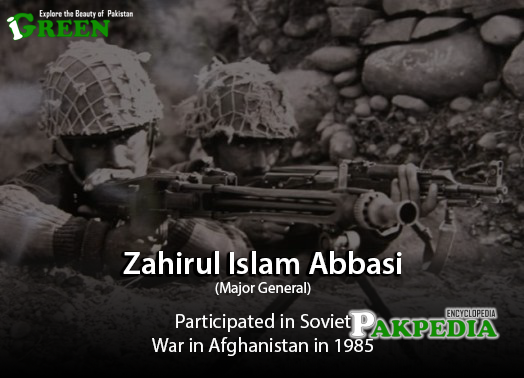 Participated in Soviet War in Afghanistan 1985
