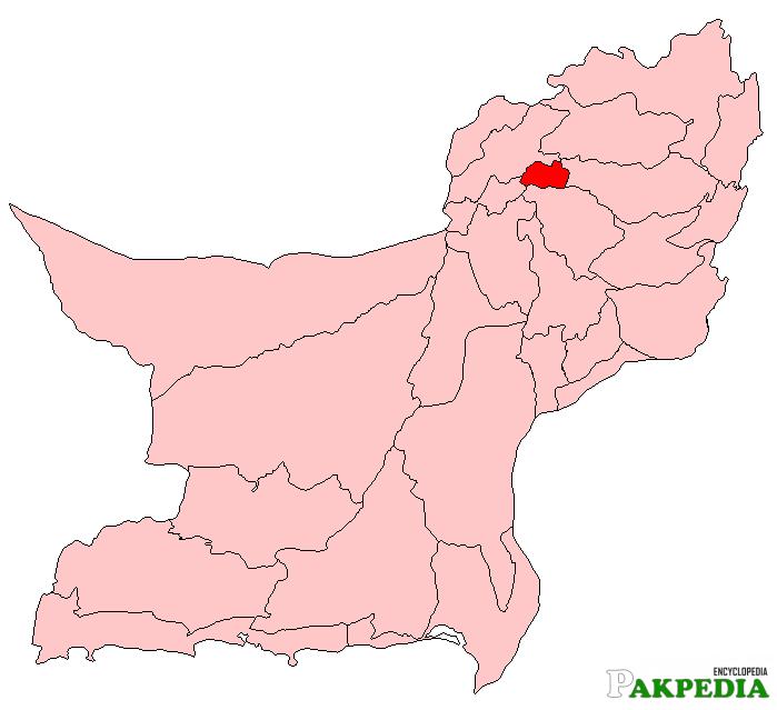 Ziarat Map