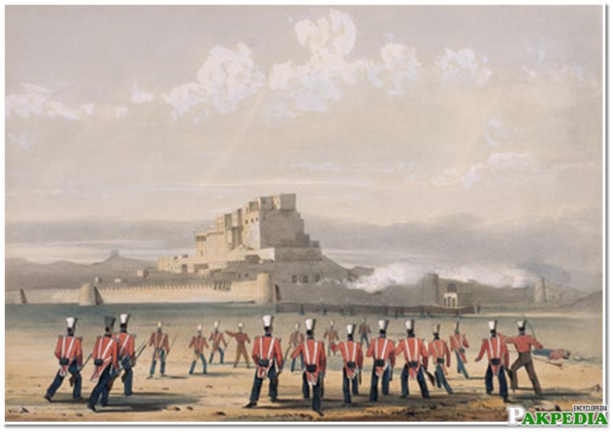 Kalat Historical Image
