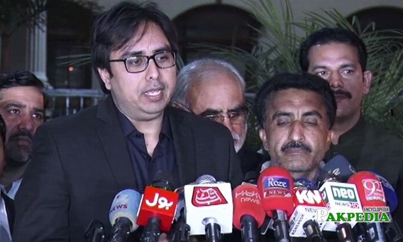Shahbaz Gill appointed as spokesperson to Usman buzdar