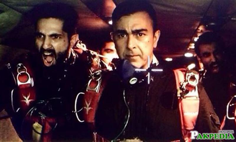 Shaan Shahid in Movie Scene
