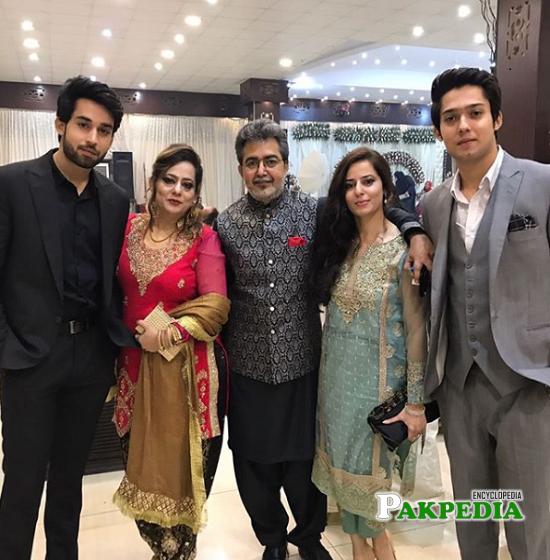 Bilal Abbas family