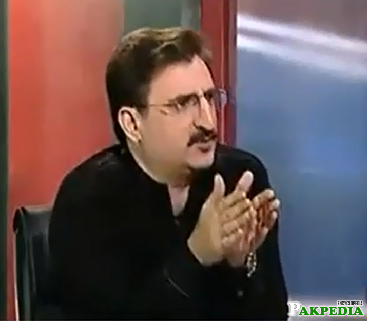 During Talk show
