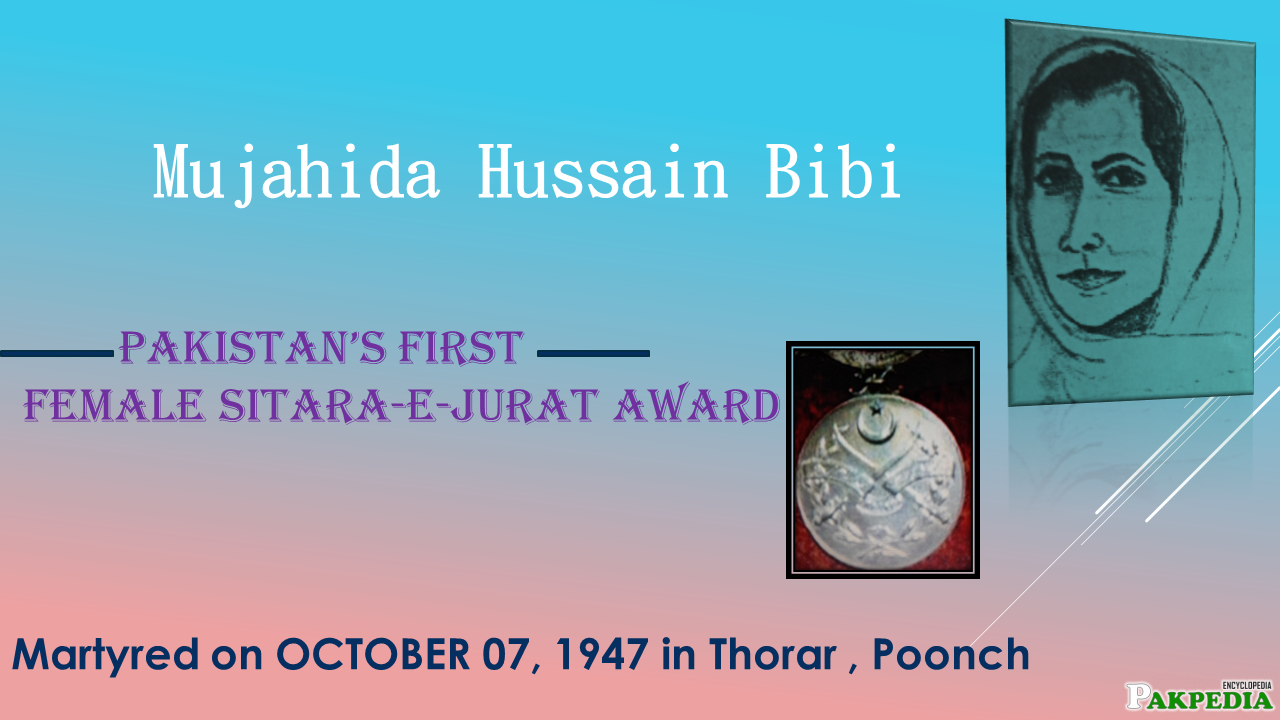Mujahida Hussain Shaheed