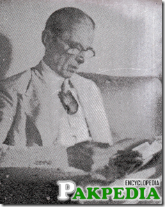 Quaid-e-Azam while Studying